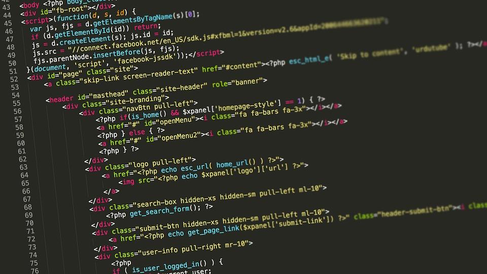 So könnte der in HTML verfasste Text hinter einer Webseite aussehen.