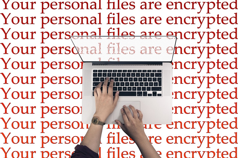 "Alles, was der Computer noch anzeigt ist ""Your personal files are encrypted"""
